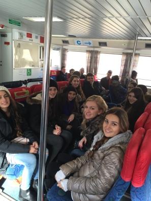 Boat ride from Capri to Sorrento
