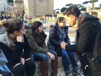 At the Roman Forum