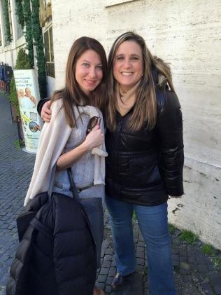 Marisa DeMarco and Mrs. Vasselman enjoy a reunion!
