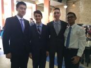 Andrew, Luke, Andrew and Jeffrey
