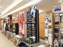 Some of the Senior exhibits