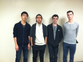 Chris, Mohammad, Gabe and Jake
