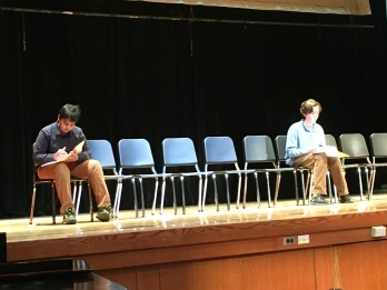 Rahul and Patrick in the final round