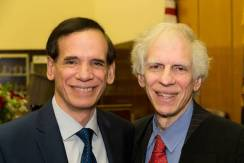 Richard Friedman (Class of 1967) and Justice Engoron