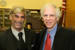 Seth Katz (Class of 1972) and Justice Engoron
