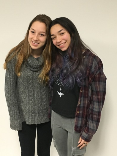 Lindsay and Brianna