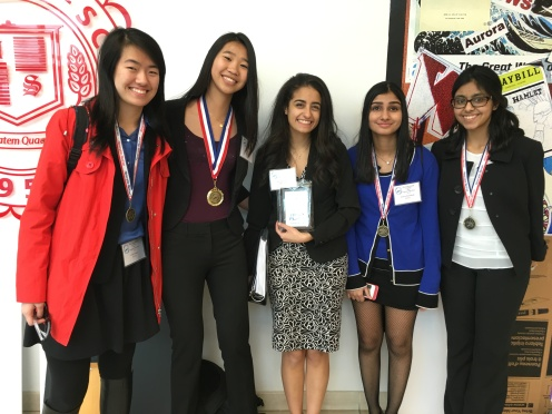 Some of our medalist (Megan is missing!)