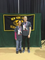 Karen and Andrew earned 8th Place!