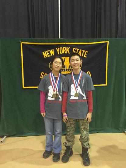 Karen and John earned 1st Place!