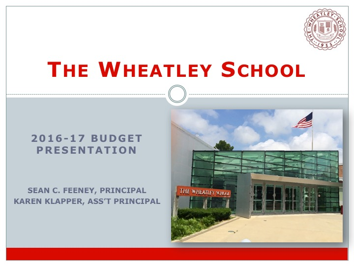 Wheatley Budget Presentation_Mar16Cover