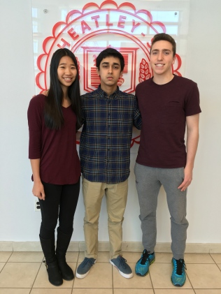 Krista, Mohammad and Andrew