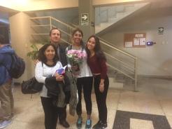 Lavanya and her host family