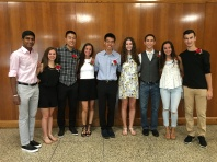 Ari, Lisa, Andrew, Kayla, Christopher, Farrah, David, Crystal and Jake (Amanda was at college orientation)