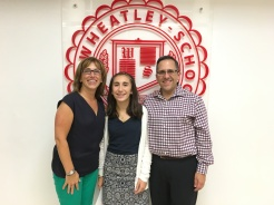 Ashley and her parents