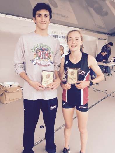 First Place Finishers Zach and Brianna