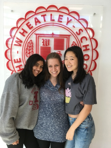 Ananya, Mrs. Walbroehl and Ally