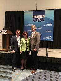 Mark Kamberg, Susan Bergtraum and me