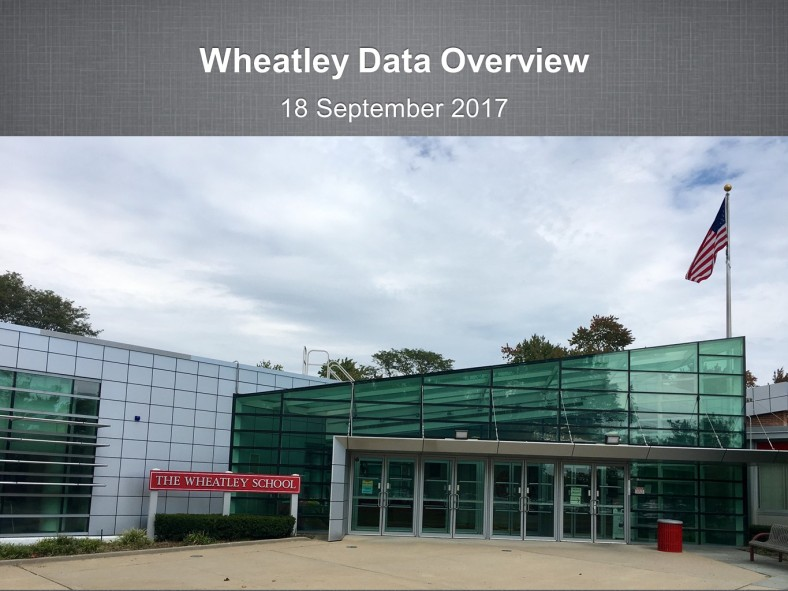 Wheatley Data Overview Sept17