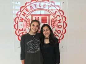 Olivia and Natalie