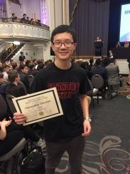 James Li, Honorable Mention