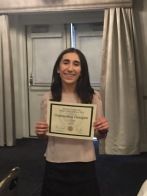 Ashley Vincenzo, Outstanding Delegate