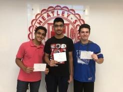 Manan, Khavi and John