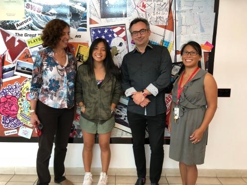 Mrs. Luftig, Camellia, Mr. Orlovsky and Dr. Ho