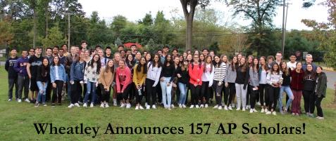 Wheatley Announces 157 AP Scholars