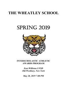 Spring Sports Awards 2019 Cover