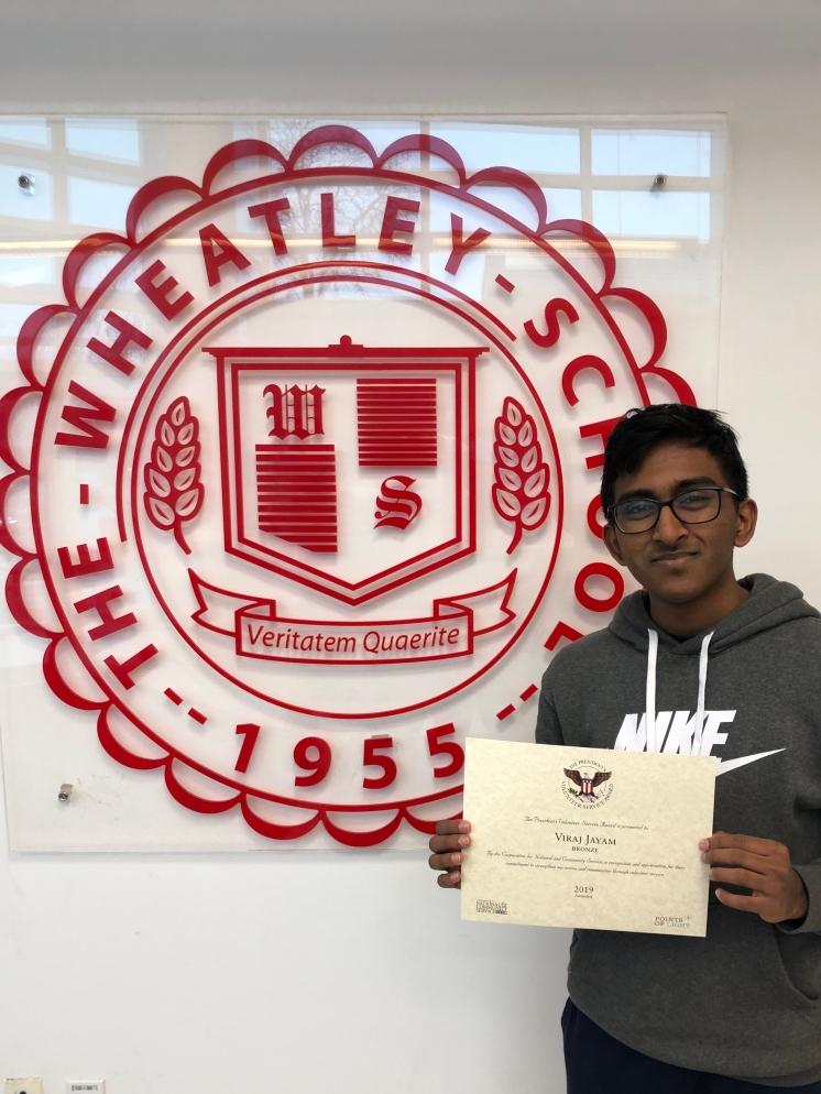 Viraj Jayam Named A Distinguished Finalist In Prestigious