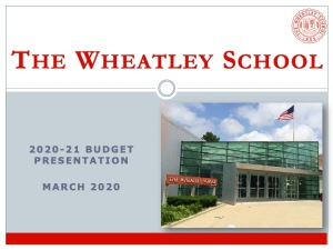 Wheatley Budget Presentation_Mar20